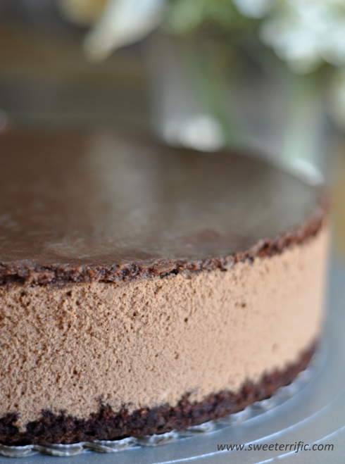 Cake With Chocolate Mousse : Chocolate Mousse Cake Sweeterrific