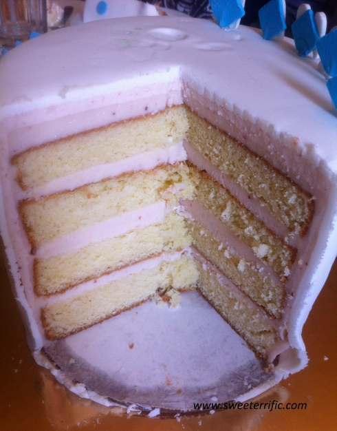 Cross Section of Cake
